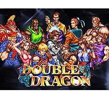 Double Dragon Arcade Photographic Print