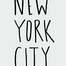 New York City by Leah Flores