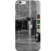 Crossing safely iPhone Case/Skin