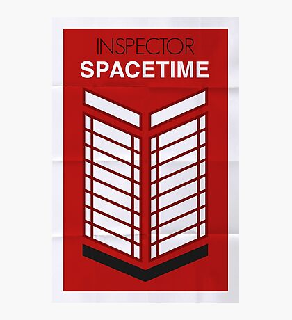 Inspector Spacetime Photographic Print