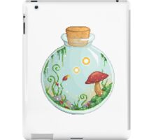 Mushrooms in a Jar iPad Case/Skin