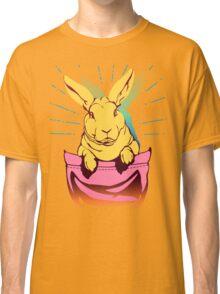 bunny rabbit in your pocket pet shirt Classic T-Shirt