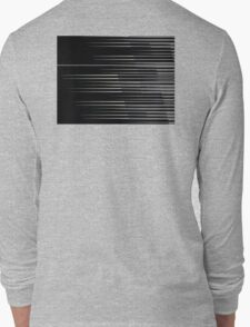 8-Bit Lines V2 Long Sleeve T-Shirt