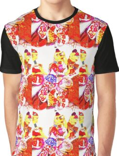 Colourful Puppet Prima Donnas  Graphic T-Shirt