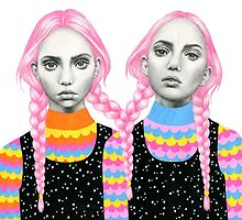 Plaited Twins by Emily Brinkley