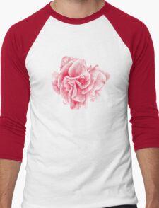 talisman . pink flower for love Men's Baseball ¾ T-Shirt