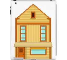Wild West pixel House iPad Case/Skin