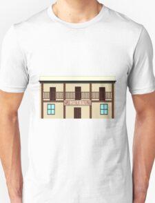 Wild West pixel Hotel Unisex T-Shirt