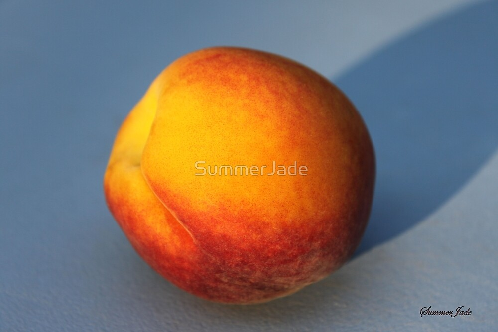 A Peach ~ Sweet and Simple by SummerJade
