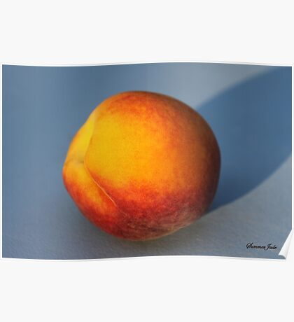 A Peach ~ Sweet and Simple Poster