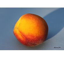 A Peach ~ Sweet and Simple Photographic Print