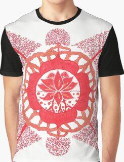 Lotus Root Chakra Graphic T-Shirt