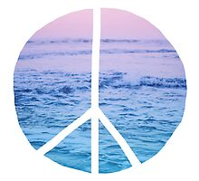 Waves and Peace by Leah Flores