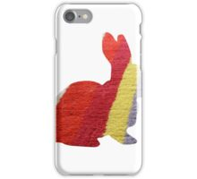 Stripy Rabbit iPhone Case/Skin