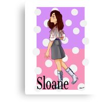 Sloane Peterson (Ferris Bueller's Day Off) Canvas Print
