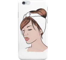 Zoe Fashion Illustration iPhone Case/Skin