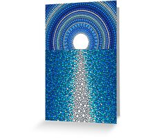 Staircase to the Moon Greeting Card