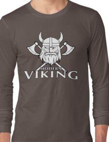 Modern Viking Logo Long Sleeve T-Shirt
