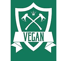 VEGAN COAT OF ARMS Photographic Print
