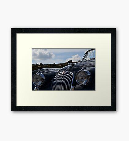 Classic British Roadster Framed Print