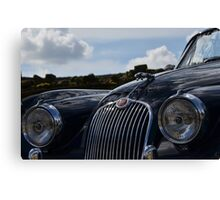 Classic British Roadster Canvas Print