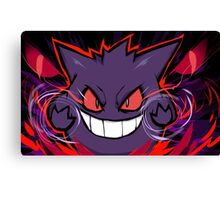Gengar | Nightmare Canvas Print