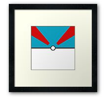 Pokemon - Megaball Framed Print