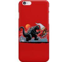 Catching Kaiju iPhone Case/Skin