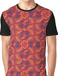 Vibrant Swirls Graphic T-Shirt