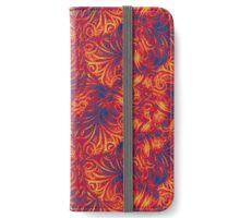 Vibrant Swirls iPhone Wallet/Case/Skin