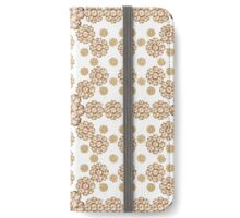 Pure Ornament Pattern iPhone Wallet/Case/Skin