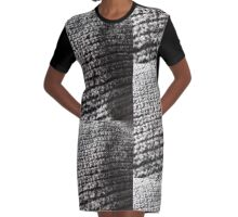Cafe Cozy Graphic T-Shirt Dress