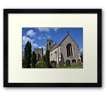 St Nicholas West Tanfield Framed Print