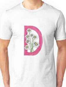 D is for Daisy Unisex T-Shirt