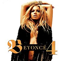 beyonce 4 album cover 2011 - KLUWER Photographic Print