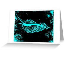 Sparrow edit Greeting Card