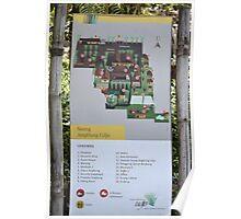 saung angklung udjo area map sign Poster