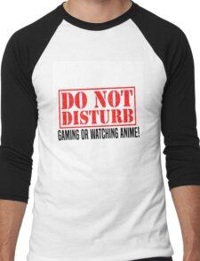 Do Not Disturb Men's Baseball ¾ T-Shirt