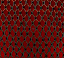 Net Art - 1 Layer - Red Hot Sticker