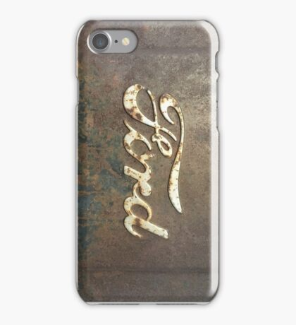 Rusty Ford iPhone Case/Skin
