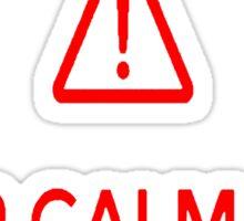 Keep calm natsu Sticker