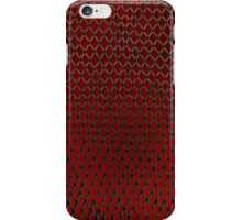 Net Art - 1 Layer - Red Hot iPhone Case/Skin