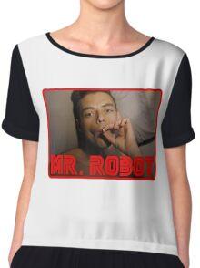 Mr Robot Elliot Alderson Chiffon Top