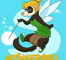 StinkerBell the Ferret by GrandTickler