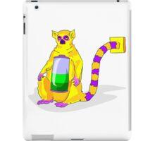 Lemur and power socket iPad Case/Skin