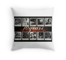 10 Years special Throw Pillow