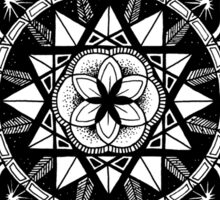 """Diffeo"" Sacred Geometry Mandala Sticker"