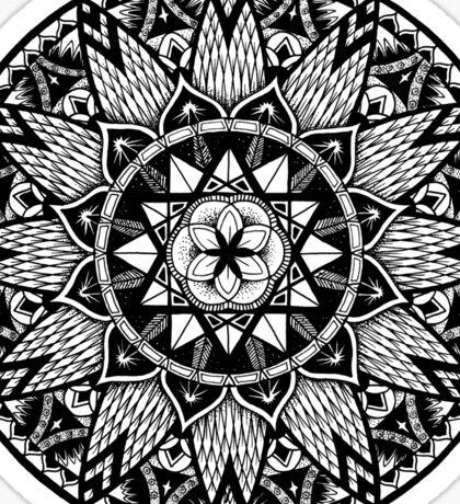 """Diffeo"" Sacred Geometry Mandala Sticker"