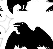 Bird Brains Sticker