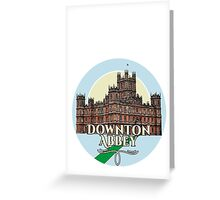 Downton Abbey - Castle Greeting Card